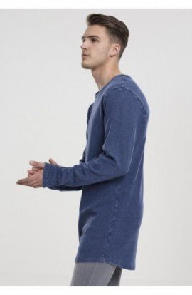 Acid Washed Longsleeve indigo S