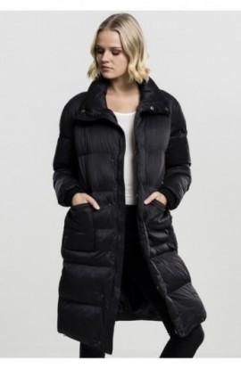 Ladies Oversized Puffer Coat negru S