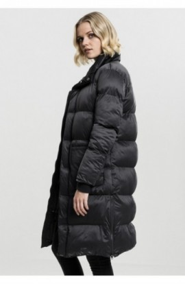 Ladies Oversized Puffer Coat negru S