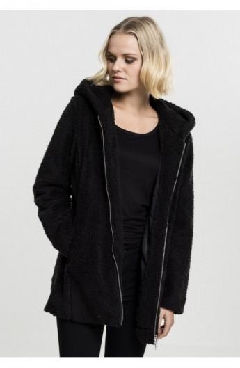 Ladies Sherpa Jacket negru S