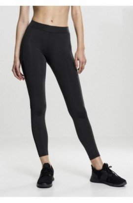 Ladies Tech Mesh Stripe Leggings negru S