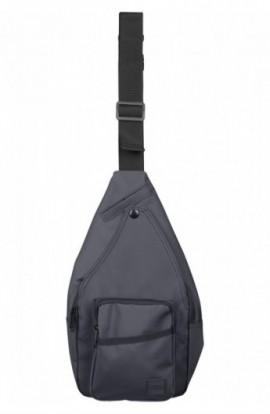 Multi Pocket Shoulder Bag negru-negru