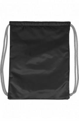 Ball Gym Bag negru-alb-alb
