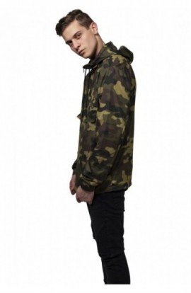 Camo Pull Over Windbreaker camuflaj S