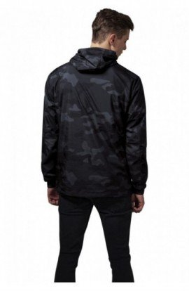Camo Pull Over Windbreaker camuflaj L
