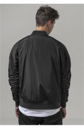 Oversized Bomber Jacket negru L