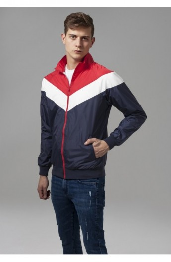 Arrow Zip Jacket bleumarin-rosu-alb XL