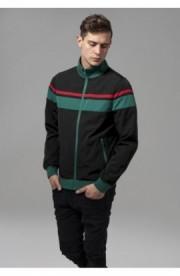 Nylon 3-Tone Jacket negru-verde-rosu 2XL