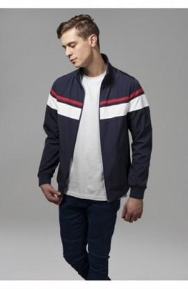 Nylon 3-Tone Jacket bleumarin-alb-rosu 2XL