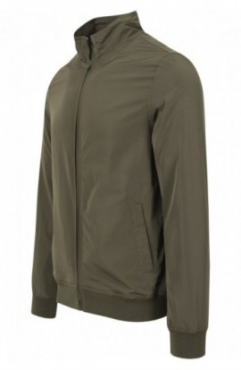 Nylon Training Jacket oliv inchis M