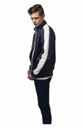 Track Jacket bleumarin-alb XL