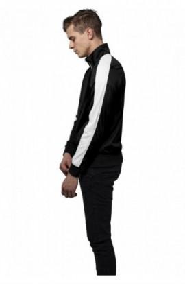 Track Jacket negru-alb M
