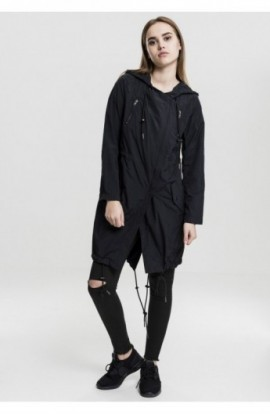 Ladies Asymetric Parka negru S