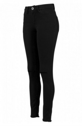 Ladies Cut Knee Pants negru 27