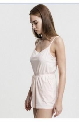 Ladies Short Spaghetti Jumpsuit roz XS