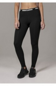 Ladies Logo Leggings negru L