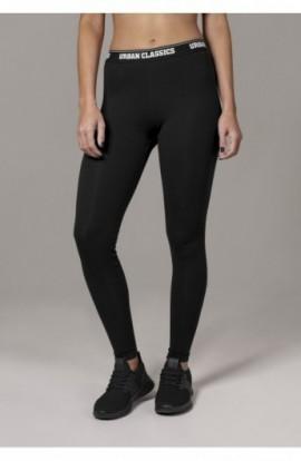 Ladies Logo Leggings negru M