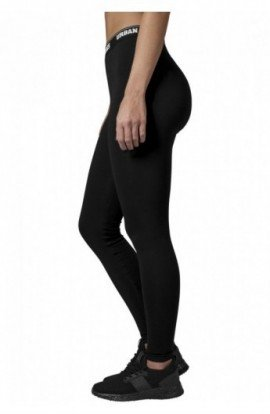 Ladies Logo Leggings negru S