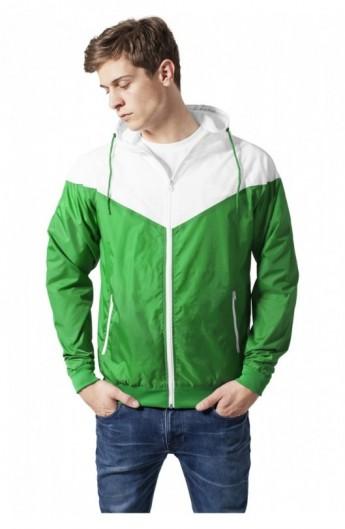 Geci primavara slim verde-alb XL