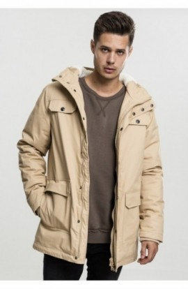 Heavy Cotton Parka bej L