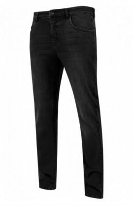 Stretch Denim Pants negru-washed 30