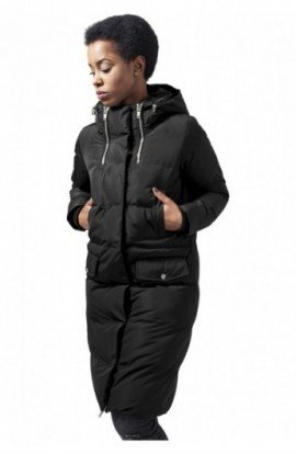 Ladies Bubble Coat negru XL