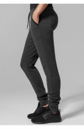 Ladies Fitted Athletic Pants gri carbune L