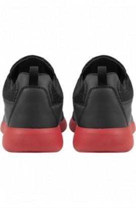Adidasi Light Runner negru-rosu foc 42