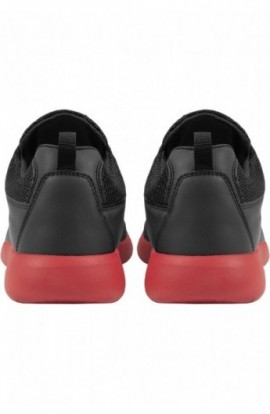 Adidasi Light Runner negru-rosu foc 44