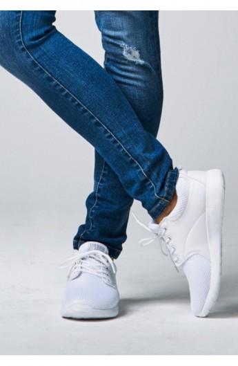 Adidasi Light Runner alb-alb 46