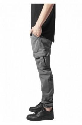 Pantaloni cargo lungi gri inchis M