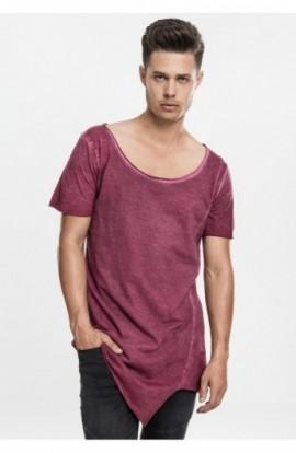 Tricouri lungi in colturi barbati rosu burgundy L