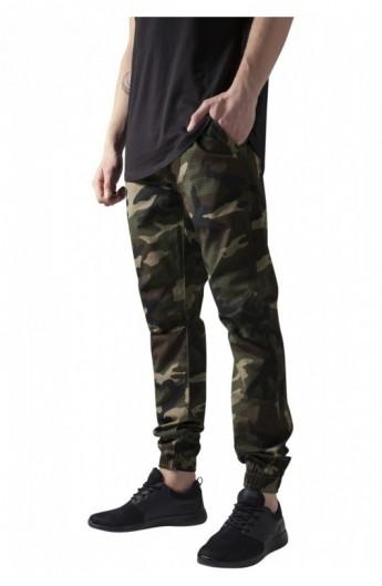 Pantaloni jogger barbati wood-camuflaj M
