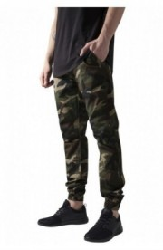 Pantaloni jogger barbati wood-camuflaj S