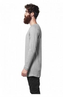 Bluze cu maneca lunga waffle gri XL