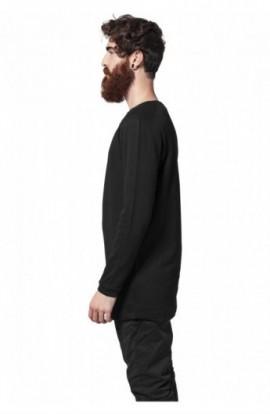 Bluze cu maneca lunga waffle negru XL