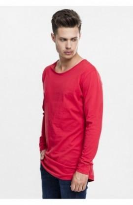 Bluze fashion cu maneca lunga foc-rosu 2XL