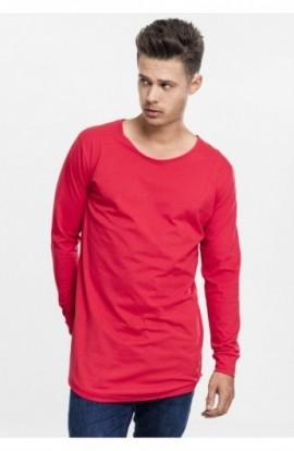 Bluze fashion cu maneca lunga foc-rosu M