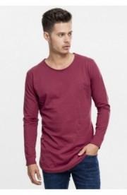 Bluze fashion cu maneca lunga rosu burgundy M