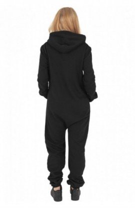 Salopete sport lungi dama negru-fucsia XL
