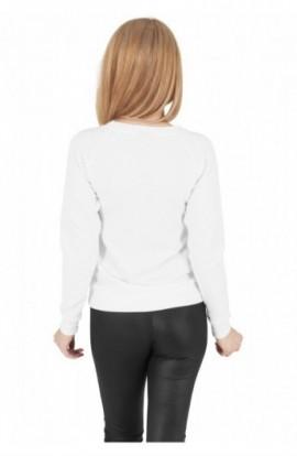 Bluze sport dama stripe alb L