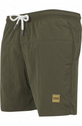 Pantaloni scurti inot oliv-oliv 5XL