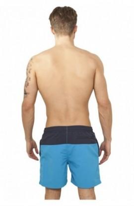 Pantaloni scurti inot bleumarin-turcoaz S