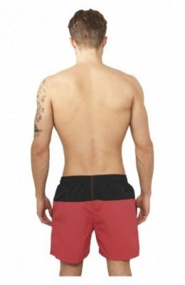 Pantaloni scurti inot negru-rosu 4XL