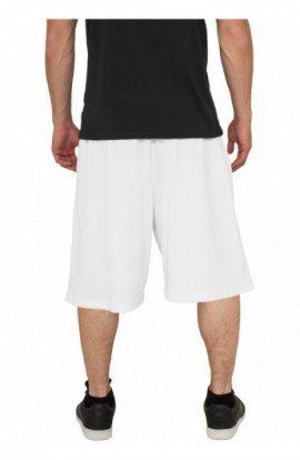 Pantaloni largi de hip hop alb M