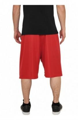 Pantaloni largi de hip hop rosu L
