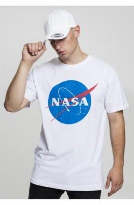 NASA Tee alb S
