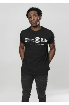 Thug Life Cities Tee negru S