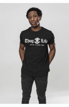 Thug Life Cities Tee negru XL