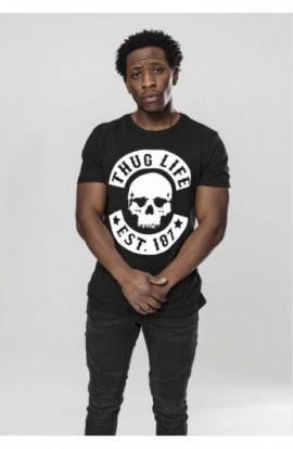 Thug Life Skull Tee negru M